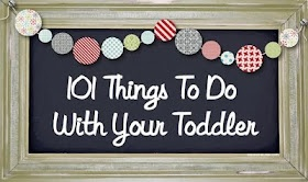 Its tough to think of things to do when the weather is poor when you're at home with your little one. Found this helpful :)