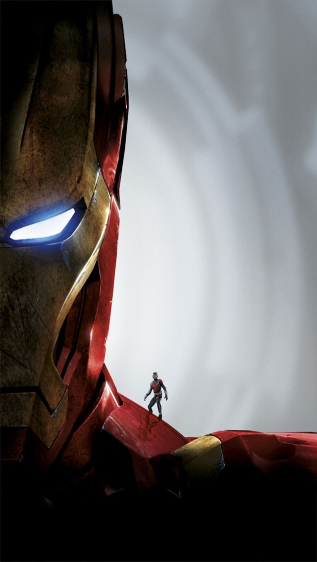 Iron Man & AntMan Marvel Pinterest Creative