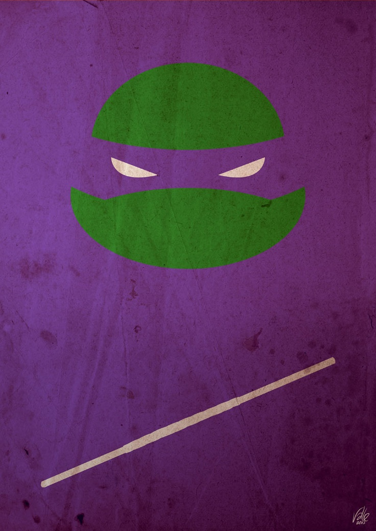 TMNT - Donnie poster