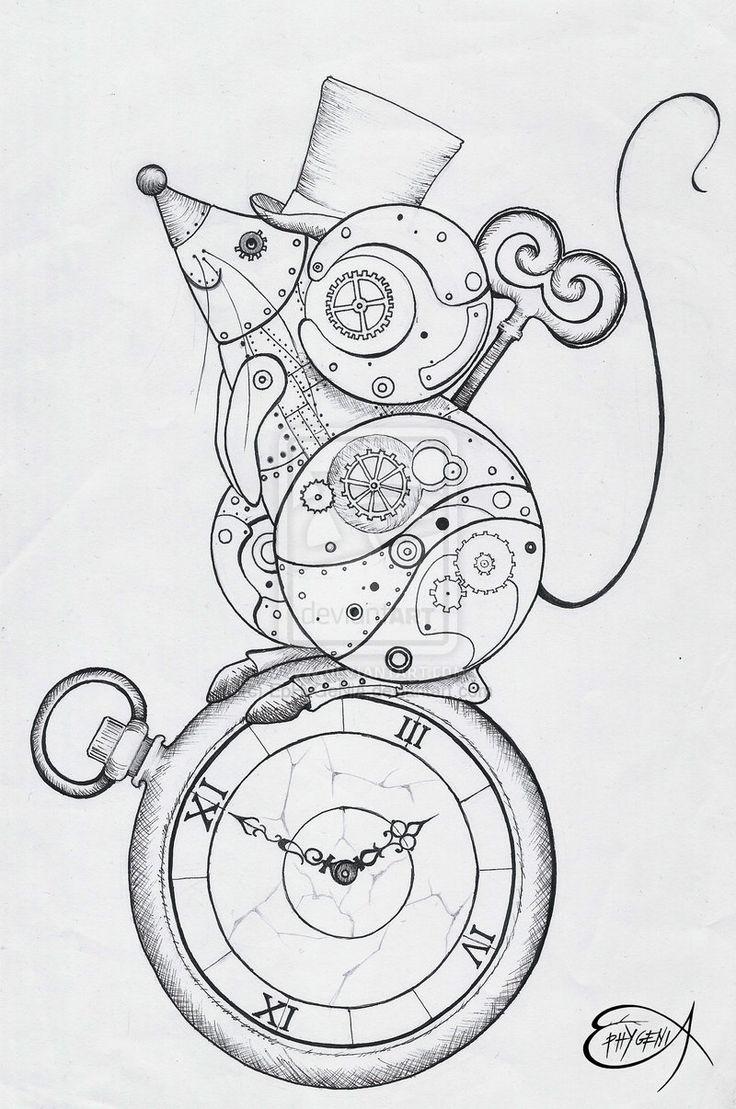 25+ beautiful Steampunk drawing ideas on Pinterest