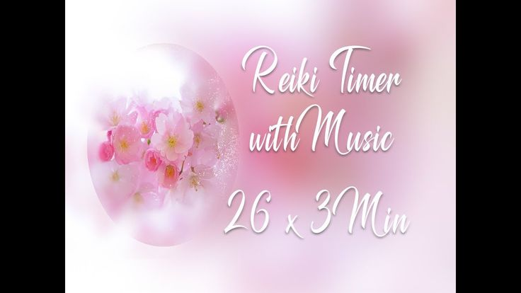 Reiki Timer 3 Min - Ethereal Music with Bells Every 3 Minutes - 26 Posit...