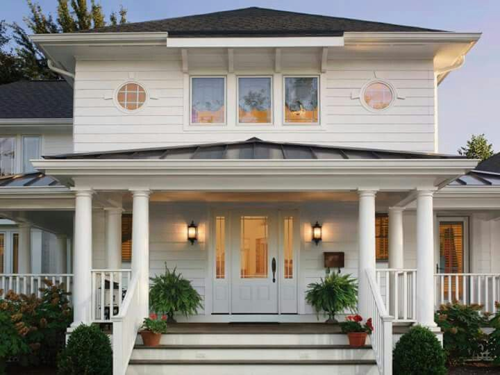 innovational ideas house front doors. Spirited Curb Appeal A front door with prairie grills adds charm and pays  homage to the innovation of Frank Lloyd Wright Photo courtesy Clopay 110 best Front design images on Pinterest Facades French