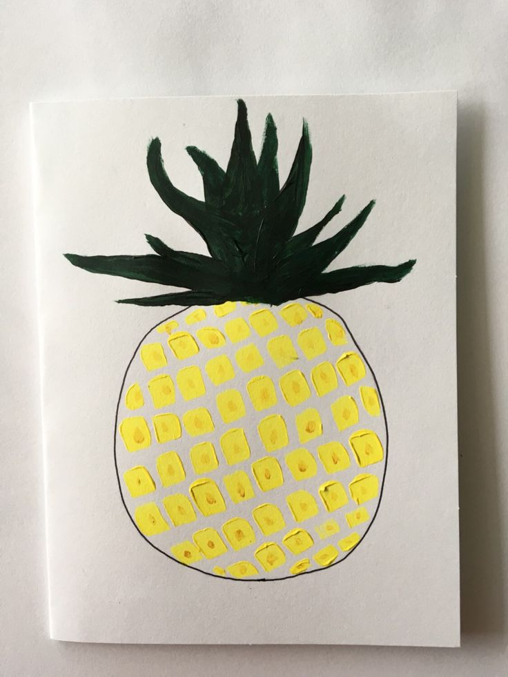 A personal favorite from my Etsy shop https://www.etsy.com/ca/listing/297917844/pineapple-card-acrylic-and-felt-tipped