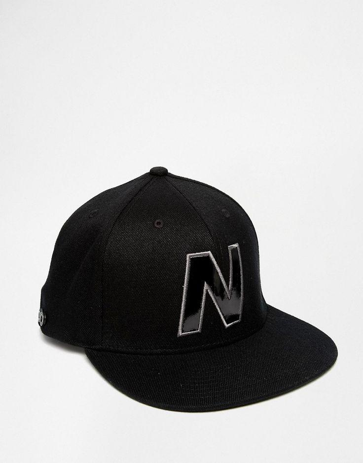 Mega seje New Balance Snapback Cap - Black New Balance Accessories til Herrer til hverdag og fest