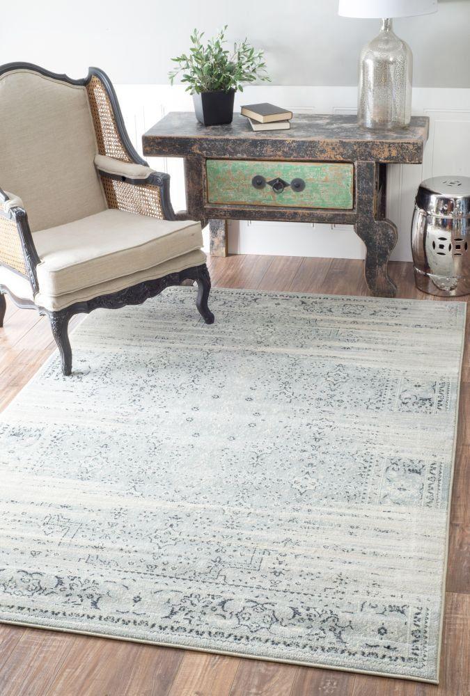 rug for living room size%0A Vintage Marceline Blue Area Rug  Size x