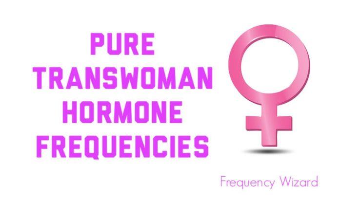 Pure Trans Woman Hormone Frequencies Subliminals Hypnosis MTF M2F HRT Tr...