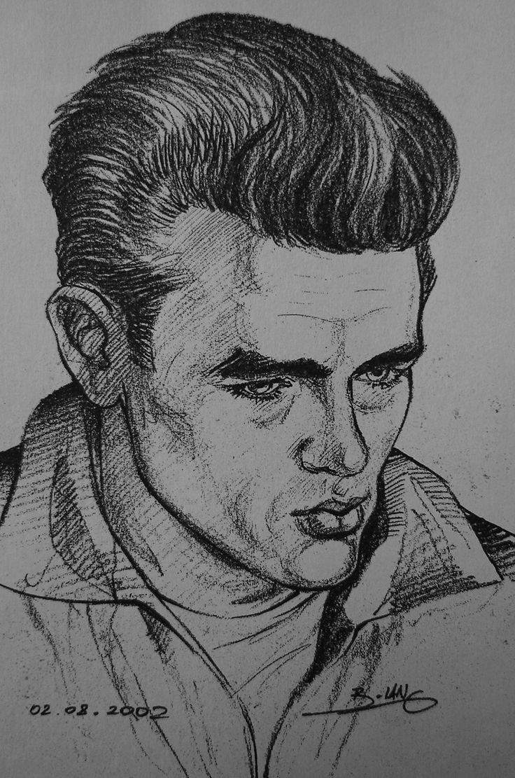 James Dean by Gabriel Tora