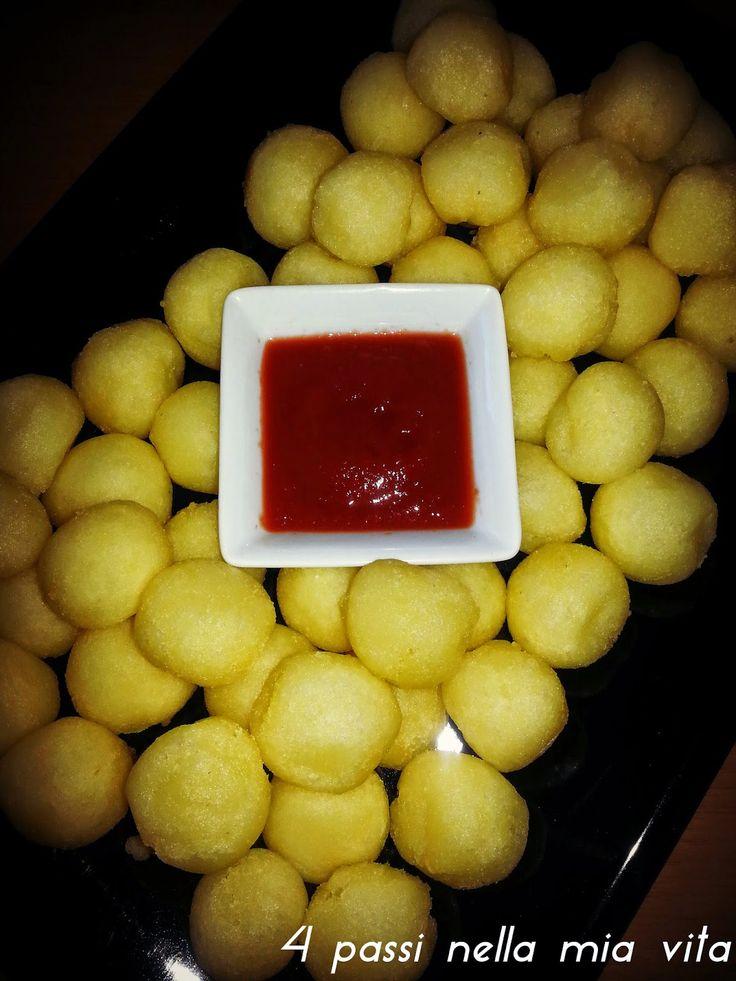 4 passi nella mia vita: Aperitivi/Antipasti: Patatine fatte in casa: Le Puff!!