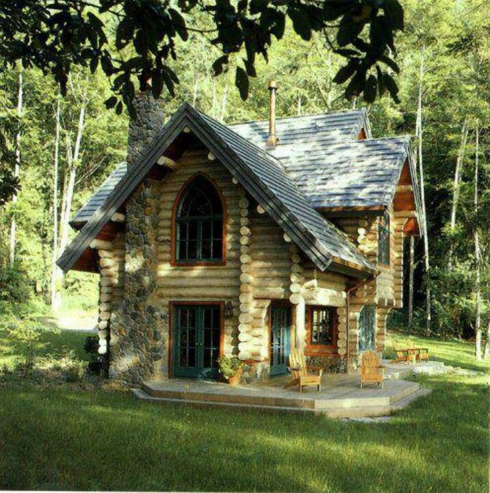I LOVE the design of this Log cabin                                                                                                                                                                                 More