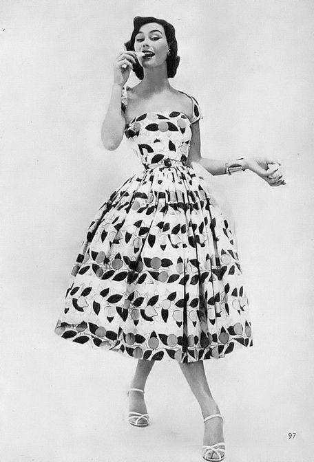 Sun Dress 1954