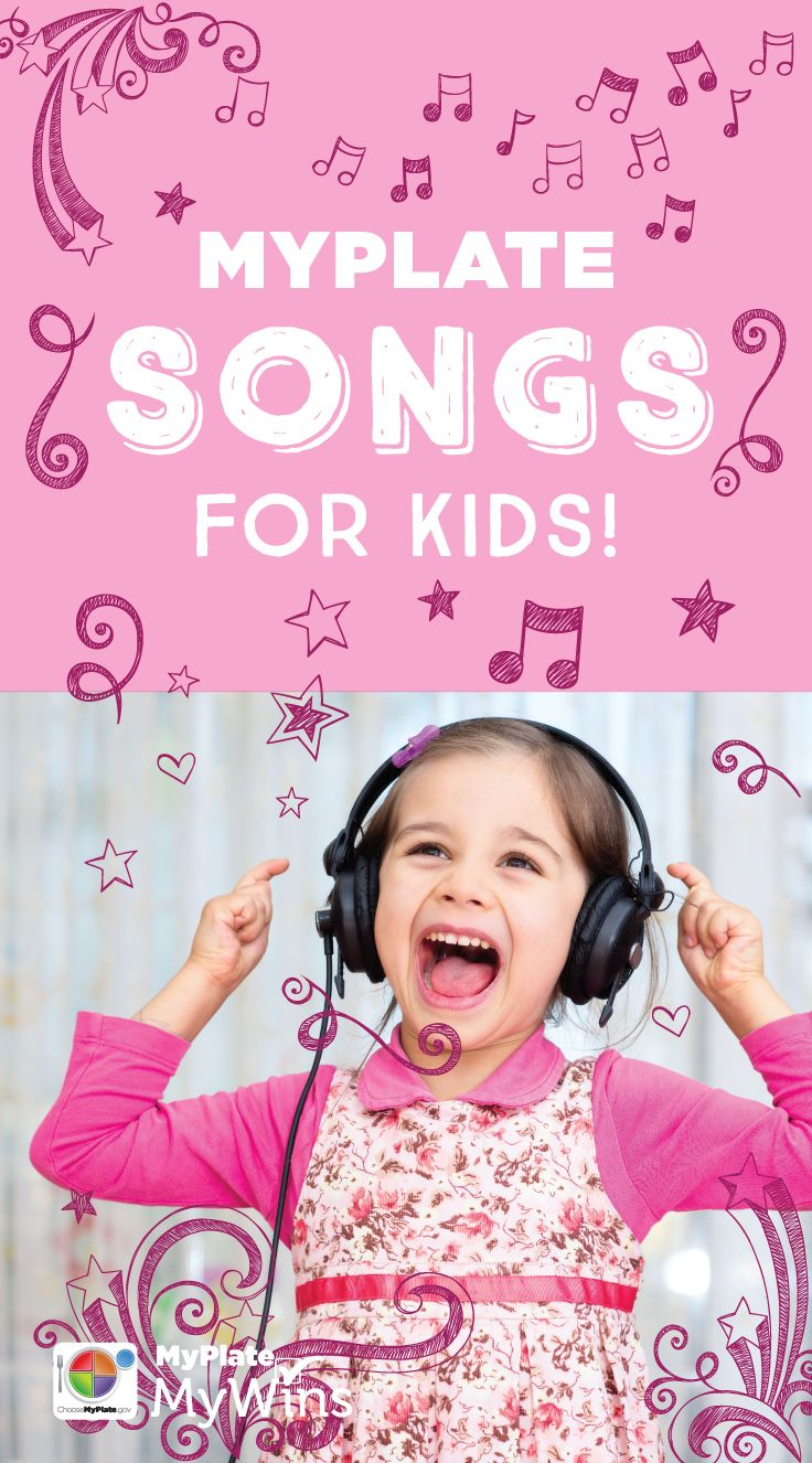 Jump, jive, and feel alive with these MyPlate songs for kids!