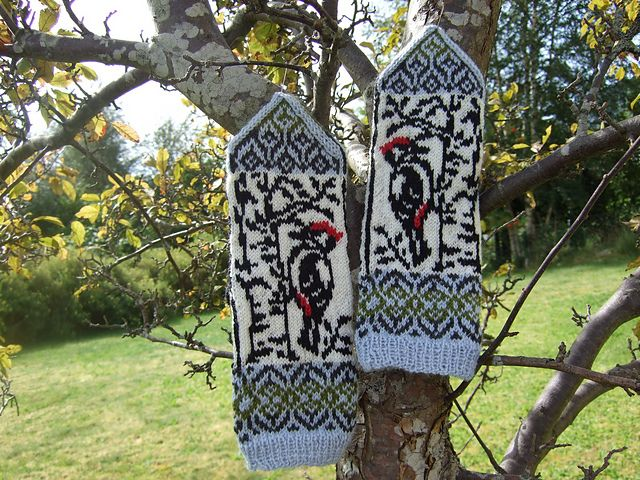 Ravelry: Woodpecker pattern by Natalia Moreva