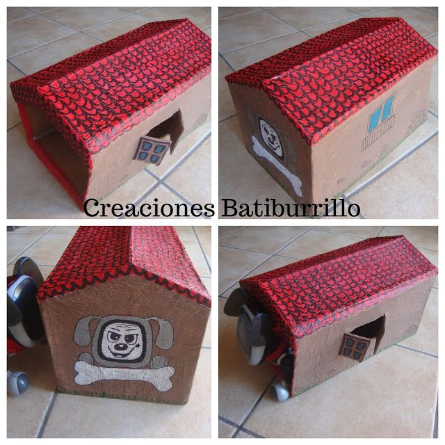 CREACIONES BATIBURRILLO: CASETA PERRO ROBOT