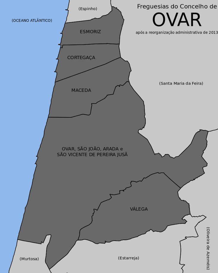 Freguesias do concelho de Ovar