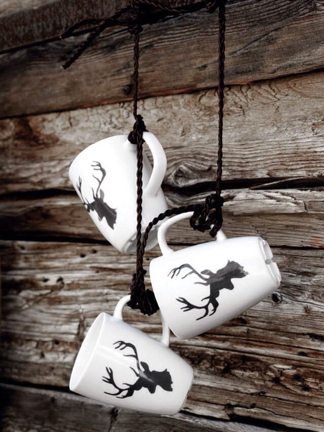 Simple decoration and no fuss about searching for the perfect cup for your hot chocolate this winter.