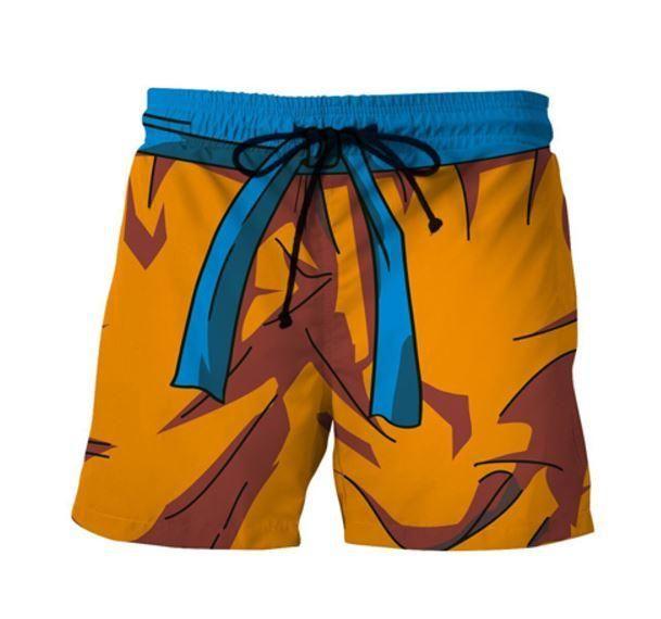 68106151b410e Son Goku Orange Costume DBZ Cosplay Swimming Trunks | Saiyan Stuff | Cool  Clothing, Apparel and Merchandise for Dragon Ball Z Lovers | Swim trunks,  Goku, ...