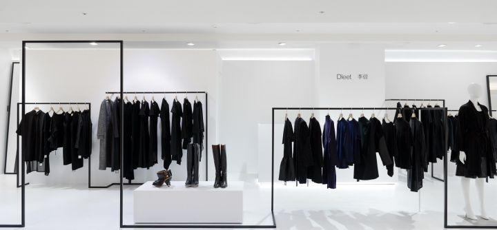 Оформление бутика одежды с 3D эффектами