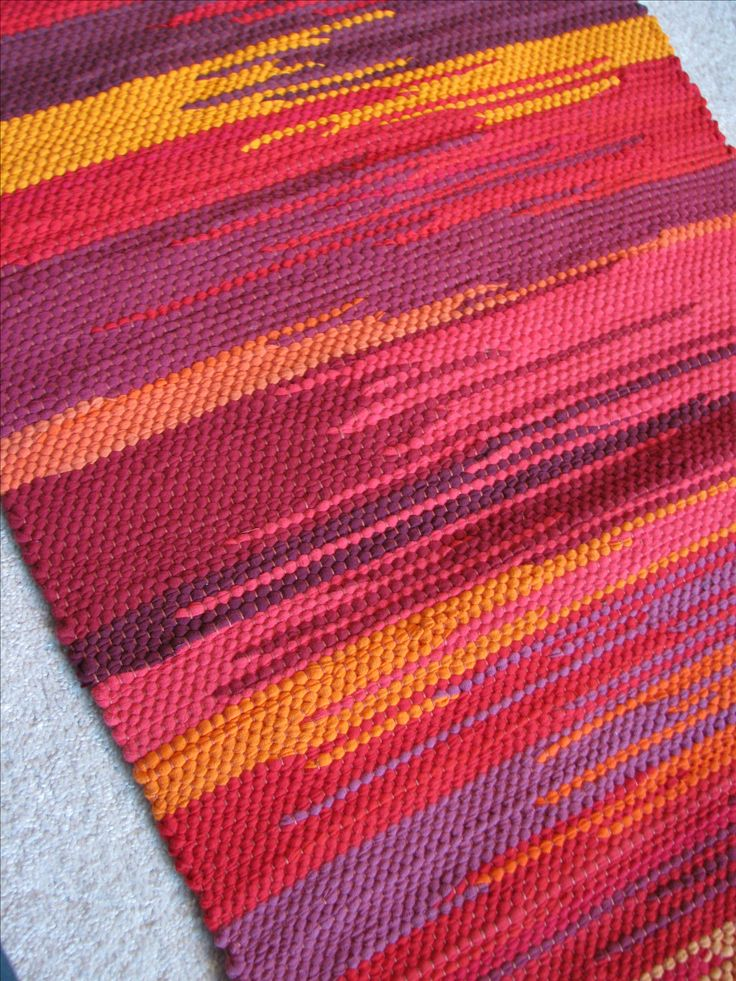 #saori weaving from #recycled clothing