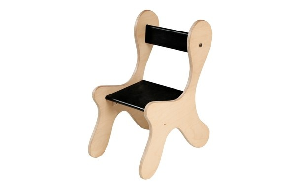 Kids Eco Chair Black by chemedesigns on Etsy, $50.00