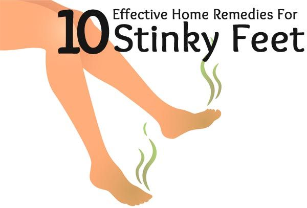 Top 10 Effective Home Remedies For Stinky Feet