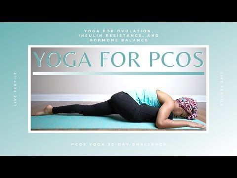 yoga for pcos  pcos exercise at home  30day pcos  yoga