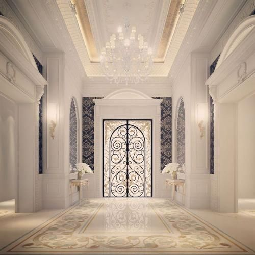 20 best luxury entrance lobby designs by ions design for Residential interior design ideas