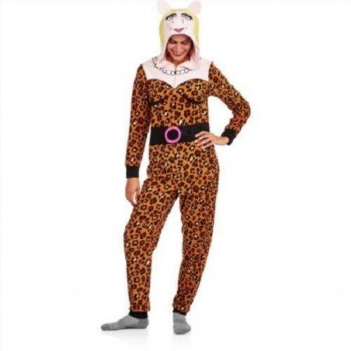 24.18$  Watch here - http://viobt.justgood.pw/vig/item.php?t=2ixy4o14605 - NEW WOMENS PLUS SIZE 2X MISS PIGGY ADULT ONE PIECE COSTUME UNION SUIT PAJAMA