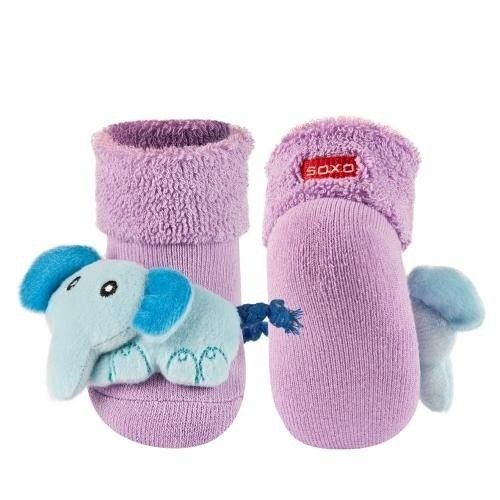 SOXO Infant socks with rattle   BABIES \ Socks   SOXO socks, slippers, ballerina, tights online shop