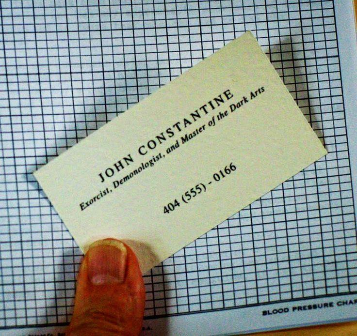 Constantine - Biglietto da visita