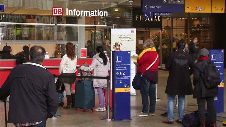 138 Stunden Bahnstreik: Erste Fernzüge fallen schon aus - Hauptstadtregion hart betroffen http://www.bild.de/geld/wirtschaft/gdl/bahn-streik-woche-ticker-40814536.bild.html
