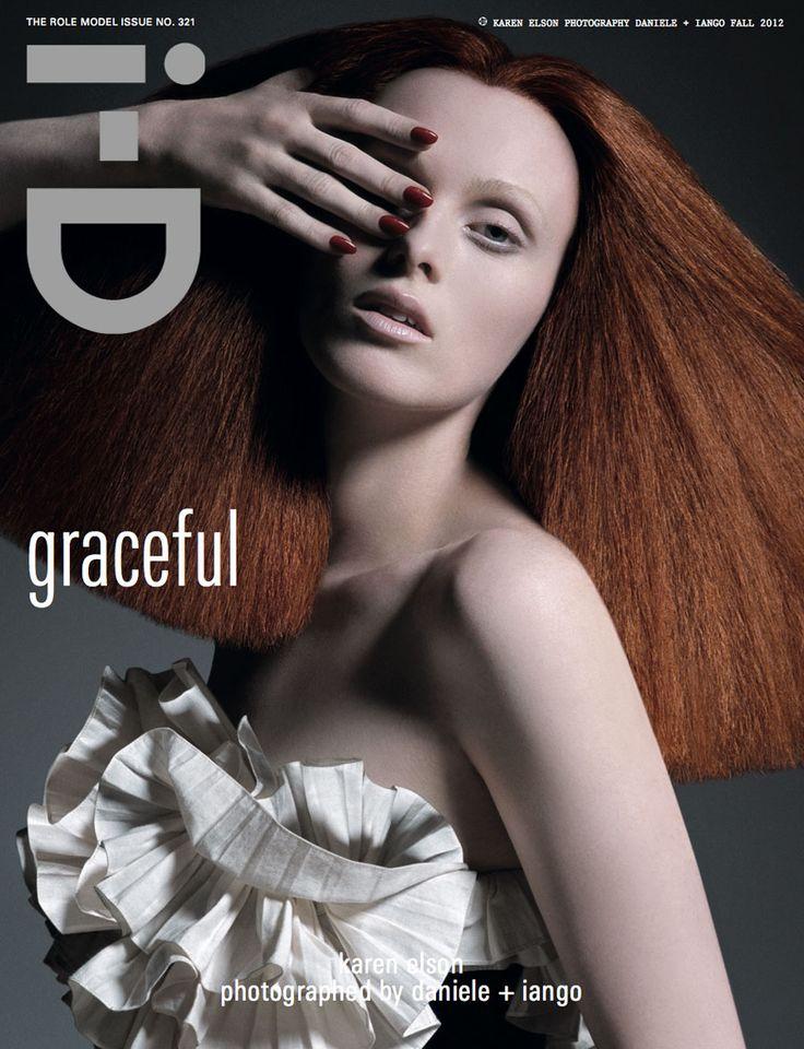 Model: Keren Elson  Shoot: Daniele + Iango and Luigi Murenu   Magazine: i-D Online