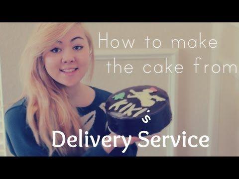 Kiki's Delivery Service Cake - YouTube