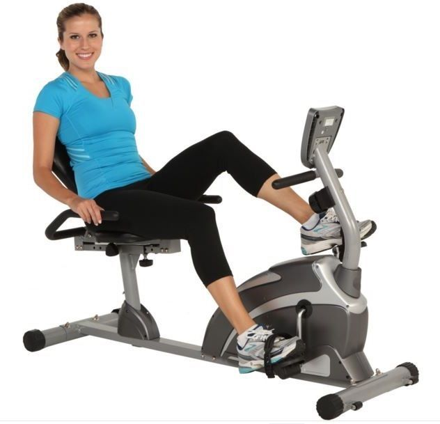 indoor recumbent exercise bike fitness stationary bicycle cardio workout cycling