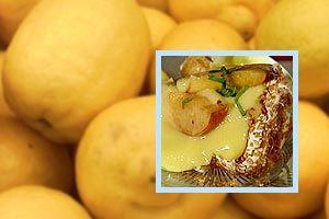 Gräddbulle med nektariner och citroncurd | Recept | Recept | svenska.yle.fi