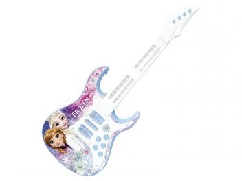 Guitarra Infantil Disney Frozen Elétrica com Alça - 1 Peça Toyng