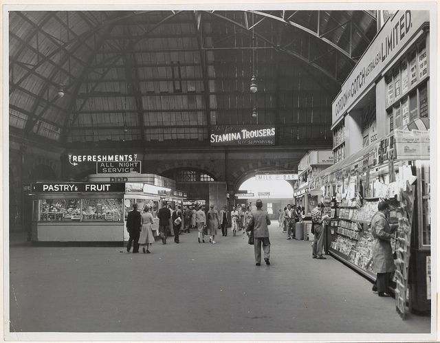 Central Railway Station Sydney 31/12/1958