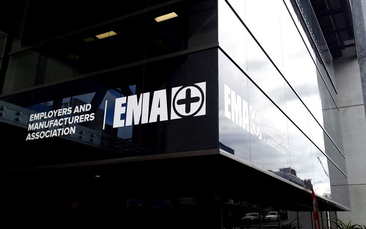 Vinyl graphics for EMA by Speedy Signs Newton