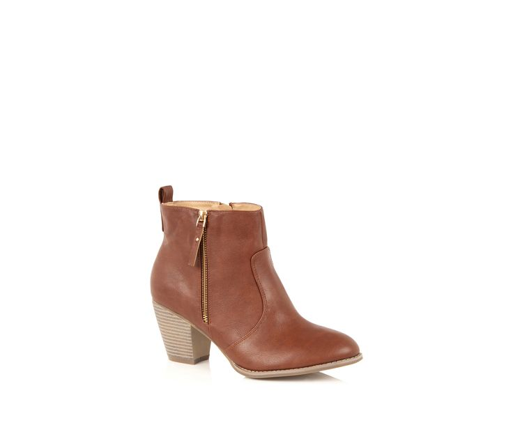 Oasis, ABIGAIL ANKLE BOOT Tan