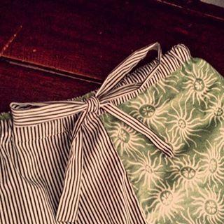 Saturday and leftover #batik fabric