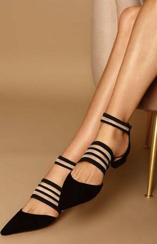 29 chaussures plates pour mettre à jour votre garde-robe cet hiver #anklestrap …