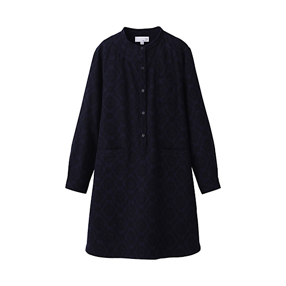 Uniqlo dress...perfect with black tights and boots.