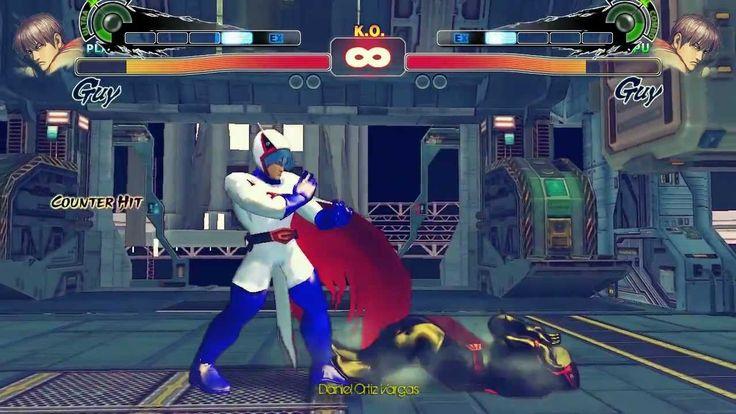 Super street fighter 4 PC - KEN THE EAGLE (Gatchaman) cosmic elevator stage