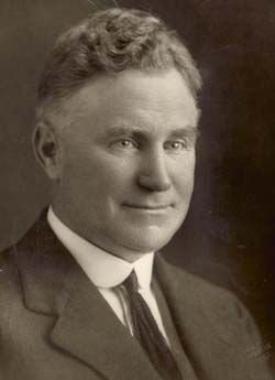 Sir Earle Page, Prime Minister of Australia 1939. He was a Country Party (now The Nationals) MP.