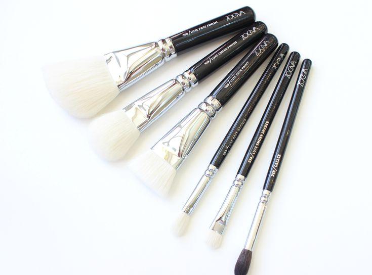 شرح فرش مكياج ماركة زويفا الاصليه والتقليد موضوع يهمك Brush Powder Brush Pen