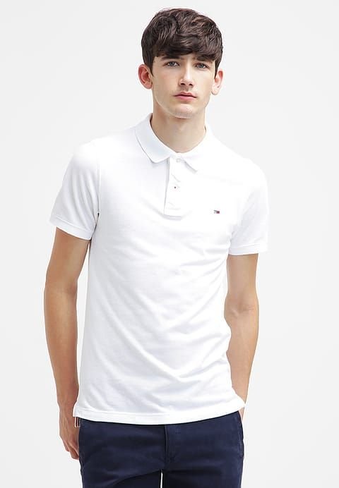 Kleding Hilfiger Denim Poloshirt - white wit: € 54,95 Bij Zalando (op 3-6-17). Gratis bezorging & retour, snelle levering en veilig betalen!