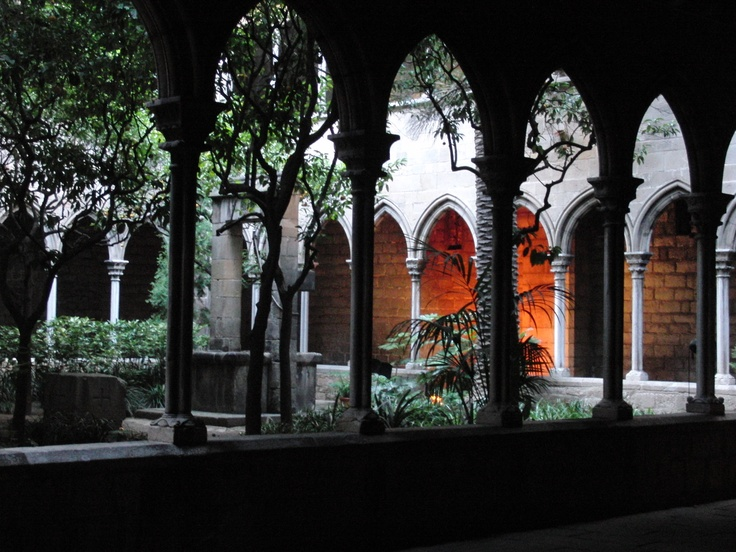 Santa Ana cloister, Barcelona