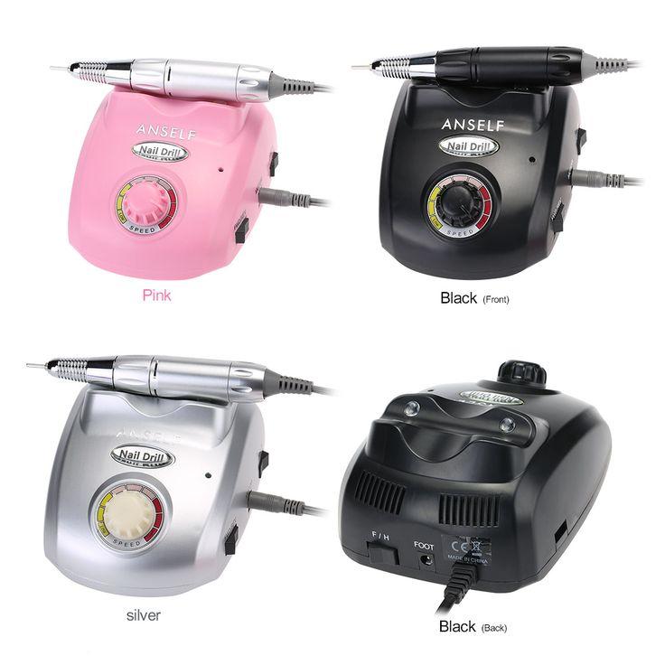 30,000 rpm Electric Nail Broca Máquina Nail Art Manicure Arquivo Pedicure ferramentas Da Arte Do Prego de Enfermagem Ferramenta com Hastes e Areia Esmeril Bits em Manicure elétricas & acessórios de Saúde & Beleza no AliExpress.com | Alibaba Group