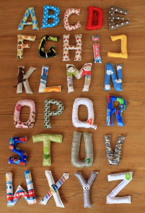 Abcédaire en tissu A comme ... - Abcédaire en tissu Bulle de surprise  Les 26 lettres de l'alphabet en tissu. Chaque tissu illustre le début de la lettre (A comme arbres - B comme bleu...) Idéal pour apprendre l'alphabet aux enfants de façon ludique !