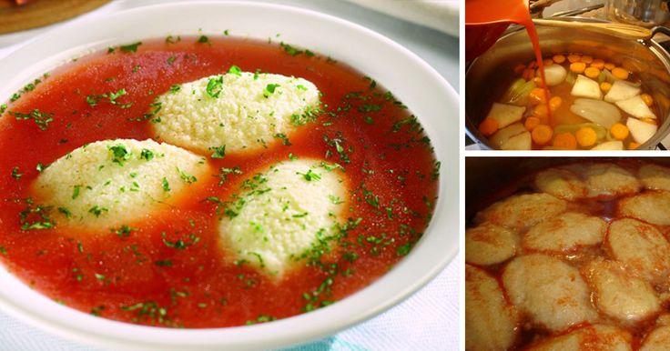 Pentru că supa de post cu găluște este o supă gustoasă și sățioasă, mai ales în zilele de post când este nevoie de mâncare mai consistentă, astăzi te învățăm o rețetă simplă de supă de roșii cu găluște. Iată cum se prepară: Ingrediente: 2 morcovi, 2 cepe, 1 păstârnac, 1 țelină, 1 kg rosii,1 l
