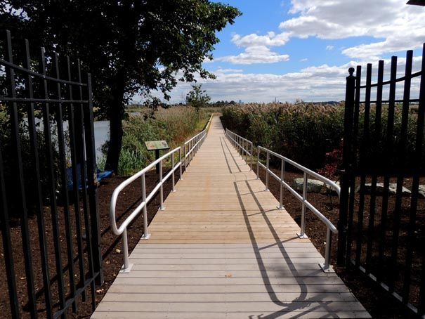 Marsh Discovery Trail in DeKorte Park NJ